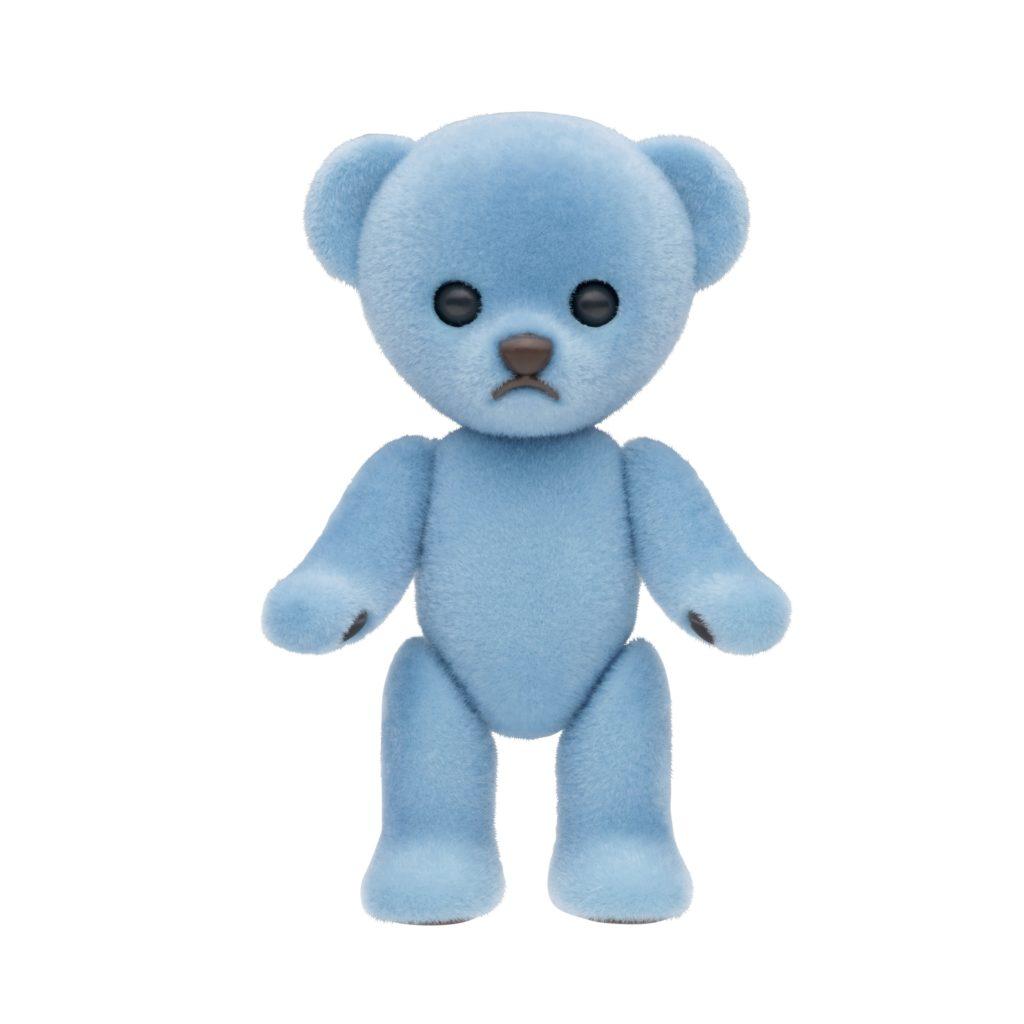ハニーベア レンゲ ブルーのイメージ画像